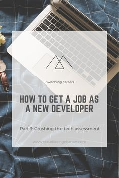 Coding a tech evaluation assignment that will make a great impression and land you the job. Switching Careers, Learn To Code, Working On It, Job Offer, In Writing, Time Management, Assessment, Crushes, Interview