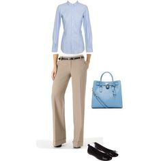 Interview outfit, created by snagajob on Polyvore