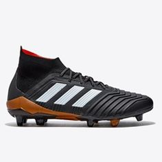adidas Predator 18.1 Firm Ground Football Boots - Black eb4add1bd