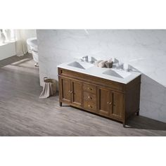 "Found it at Wayfair - Oakmont 59"" Double Sink Bathroom Vanity Set"