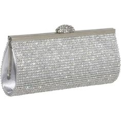 Save $41.89 on Ecosusi Sophisticated Crystals Rhinestones Clasp Flap Clutch Evening Bag Baguette Handbag; only $36.99