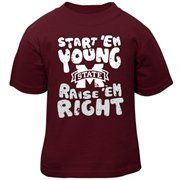 Mississippi State Bulldogs Toddler Start 'Em Young T-Shirt - Maroon