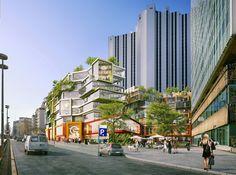 mvrdv vandamme nord superblock montparnasse paris designboom