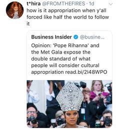 I'm honestly sick and tired of people using this argument. That's not the point of Catholicism, and it's also not a recent argument. You can't use something that happened a hundred years ago to justify something that's happening today. Cultural Appropriation, Intersectional Feminism, Equal Rights, Faith In Humanity, Atheism, Social Issues, Social Justice, Equality, Christianity