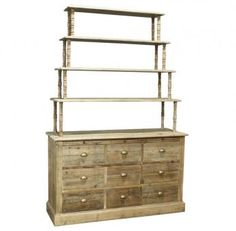 Denver Chest of Drawers with Shelves. A Block and Chisel Product. Drawer Shelves, Cupboard Doors, Chest Of Drawers, Sideboard, Denver, Clear Glass, Bookcase, Furniture, Home Decor