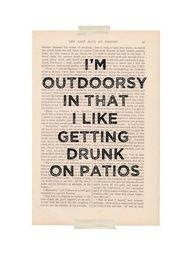 i wish i had a patio.