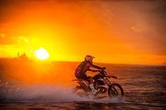 Robbie Maddison Surfs a Motocross Bike