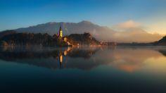Morning Meditation... - Slovenia, Bled  http://www.facebook.com/Pawel.Kucharski.Photography