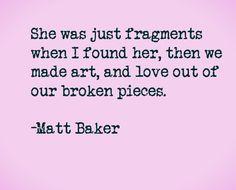 Matt Baker. Deeeepppp | Things for My Wall | Pinterest