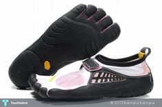Vibram-Five-Fingers-Kso-WhitePinkBlack-Womens-www. - Creative #Art in #fashion at @touchtalent.com