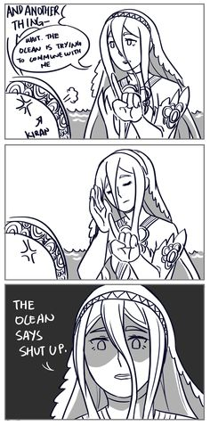 azura taking no shit is 100% my aesthetic