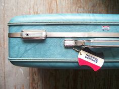 Travelling! And vintage suitcases.