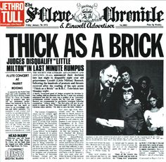Jethro Tull, Thick As A Brick