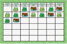 Which is your favorite month for Frog Themed Bulletin Boards? http://www.squidoo.com/frog-bulletin-boards  Frog Calendar Math Bulletin Board