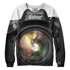 f68469bca belovedwear® presents the #Camera Sweatshirt This