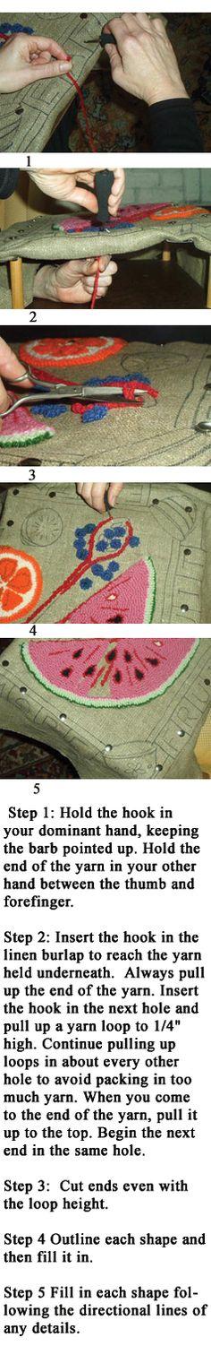 Good news New range of 40 colours of Rug Yarn coming soon!