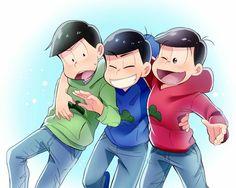 Choromatsu, Karamatsu & Osomatsu