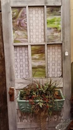 Refurbished door & Refurbished door out of my house... | DIY | Pinterest | Refurbished ...