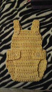 Ravelry: Glory's easy baby overall pattern by Gloria Delgado