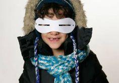 Experimente mit Licht: Schneebrille