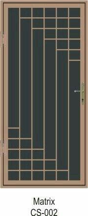 Super Metal Door Design Security Screen Ideas - New Ideas Window Security, Steel Security Doors, Security Screen, Door Grill, Window Grill Design, Fly Screen Doors, Burglar Bars, Window Bars, Iron Gate Design