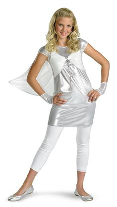 Emma Frost Child Costume Marvel Comics NWT Size 7-8 in Clothing dac7d4b6ad5