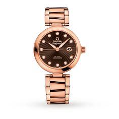 Omega De Ville Ladymatic Ladies Watch   Luxury Watches   Watches   Goldsmiths