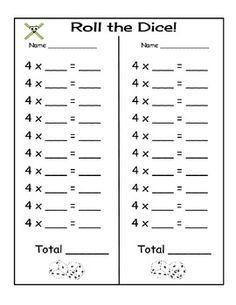 Free, printable Multiplication Bingo Cards (30
