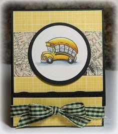 The Paper Landscaper: Bus Driver Gift