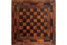 Antique Wood Game Board