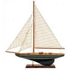 Small  Model Sailboat