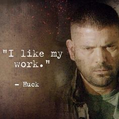 Huck from Scandal. Best supporting character in a TV show?