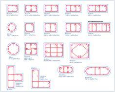 Concrete columns in different categories | detallesconstructivos.net