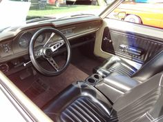 1972 Ford Maverick interior.