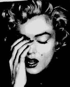 Marilyn Monroe photograph print poster photo POP ART eyes closed shut hand on face sad cool wall decor - Marilyn Monroe print poster photo pop art photograph eyes closed shut hand on face sad - Marilyn Monroe Pop Art, Marilyn Monroe Photos, Art Pop, Pop Art Posters, Poster Prints, Vintage Photographs, Vintage Images, Hands On Face, Photoshop Rendering