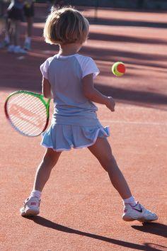 Tennis Top Girls Raglan Sleeve Full Pleated Tennis Skirt Outfit
