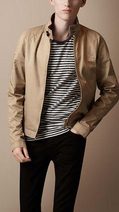 Cotton Harrington Jacket | Burberry