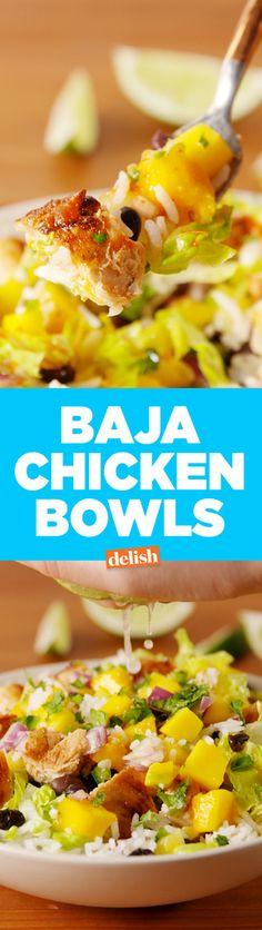 Baja Chicken Bowls