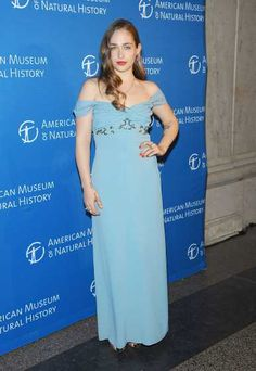 'Girls' star #JemimaKirke in a one-of-a-kind vintage Geminola dress, as she attends the 2013 Museum Gala at the #AmericanMuseumofNaturalHistory on November 21, 2013 in New York City  http://celebhotspots.com/hotspot/?hotspotid=5572&next=1