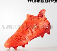 351737608 Red Adidas X 16+ PureChaos 2016 Boots Leaked - Footy Headlines Adidas Boots,  Football