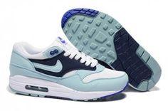 Vendita ingrosso donna nike air max 1 scarpe da ginnastica luce-jade-blu,bianche prezzi stracciati