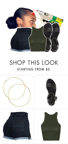 """$hmoney"" by ayeeitsdessa ❤ liked on Polyvore featuring Topshop"