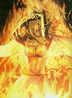 Possessed Art by: Greg Land  Did you know that Emma Frost, once an enemy of the X-Men, was possessed by the Phoenix force before the events in Avengers vs X-Men? it took place in the Phoenix -Endsong story.