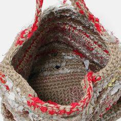 DANIELA GREGIS bag natural red mix | PLAGUESEARCH