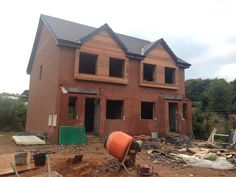 More new builds going up! #stalybridge #tameside #architecture