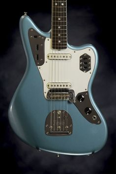 Fender American Vintage '65 Jaguar 2014 Blue Ice Metallic | reverb