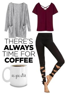 """""""Coffee Date☕"""" by lexaholl13 ❤ liked on Polyvore featuring CoffeeDate"""