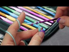 Video Tutorial Uncinetto Punto catenella - Chain crochet - Punti base Full HD ita - YouTube