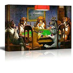 Wall26 Pokers Dogs (or Dogs Playing Cards) by C. M. Cooli... https://www.amazon.com/dp/B00VFZ1XQY/ref=cm_sw_r_pi_dp_x_DR5pyb7WBZKTW
