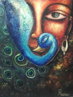 Check out this Oil on canvas board and Painting by Dr.RUCHI VIDYARTHI of 41 x 31 inches at an all inclusive price of 40,304 in INR.Visit the https://www.indianartideas.in/artwork/2799